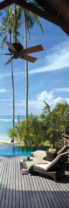 Shangri-La's Villingili Resort and Spa, Maldives   LOLO