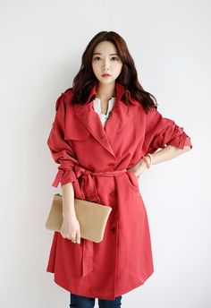 2 color _ trench coat  $59.4