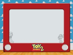 Journal Card - Toy Story 2 - Etch a Sketch - 4x3 photo by pixiesprite