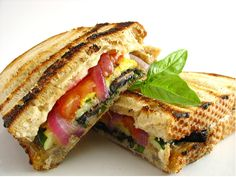 Panini sandwich looks so good for lunch!