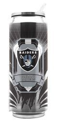 Oakland Raiders Stainless Steel Thermo Can - 16.9 ounces