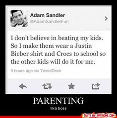 Parenting like a boss.