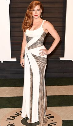 Oscars 2016: All the Dresses You Didn't See | People - Amy Adams in Atelier Versace