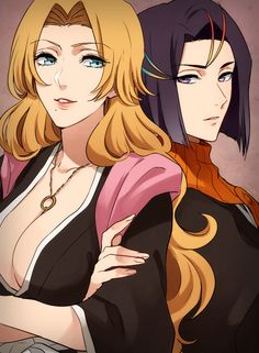 Rangiku and Yumichika