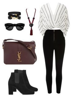 """Untitled #208"" by foto-io ❤ liked on Polyvore featuring Yves Saint Laurent and Free People"