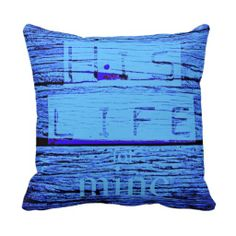 His Life for mine throw pillow