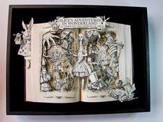 Alice in Wonderland and Through the Looking Glass  by artfuliving, $200.00