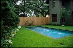 Small Backyard Pool Landscaping   ... minimalist landscape design with small pool design for backyard
