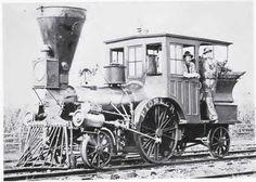PioneerLocomotiveSmithsonian 1880s or 1890s