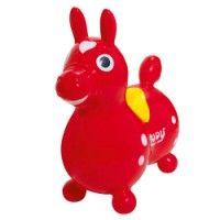 Cheval sauteur rouge