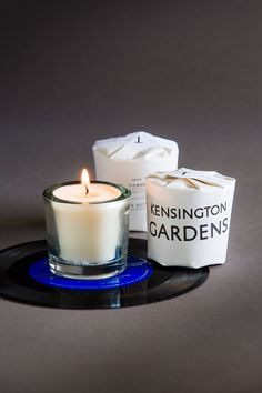 kensington gardens tisane candle | glass votive candles by tatine