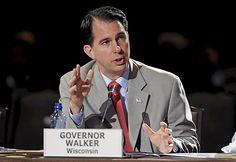 Wisconsin's Scott Walker deals with double dose of bad economic news