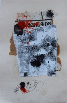 Untitled (2013) by artist Jane Cornwell. Collage. ty daily art journal. via vavoir on Flickr