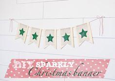 DIY Sparkly Christma