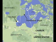 Northwest Angle Minnesota - Drive - Northern Most Point in Continental U...