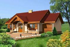 Proiect de casa cu parter si ferestre cu obloane