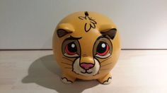 The Lion King Piggy Bank by FuzzBird on Etsy