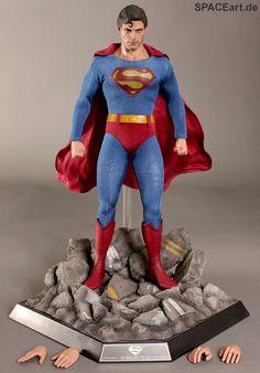 Superman III: Evil Superman, Deluxe-Figur (voll beweglich) ... https://spaceart.de/produkte/sm007.php
