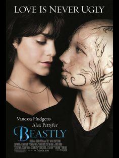 beastly 2011 la película no es muy buena , pero te deja un bonito mensaje