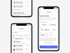 Doctor Search App designed by Monty Hayton. Connect with them on Dribbble; Doctor Search, Ui Inspiration, Mobile Ui, Data Visualization, User Interface, Ui Design, How To Memorize Things, App, Scripts