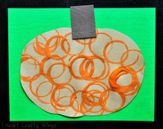circles, toilet paper rolls, fall crafts, paper towel rolls, crafti thing, pumpkins, toilet paper tubes, heart crafti, circl stamp