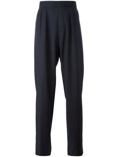 RAF SIMONS Wide-Legged Pleated Trousers. #rafsimons #cloth #trousers