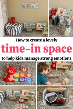 If your kids need more support in managing their feelings and improving their behavior when they feel overwhelmed by emotions, creating a time-in space for them can make a big difference! - Gentle discipline | Parenting tips