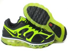 Nike Air Max 2012 Black Volt Shoes