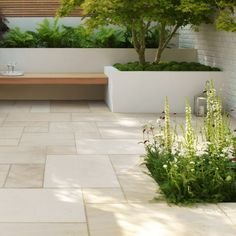 Stonemarket Paving Sawn & Sandblasted Sandstone 'Beachside' Sand-PAVING SLABS Stonemarket Sawn Sandstone 'Beachside' Sand Paving Slabs Garden Slabs, Patio Slabs, Garden Paving, Garden Stones, Pool Paving, Deck Patio, Wooden Garden, Back Gardens, Outdoor Gardens