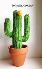 Resultado de imagen de cactus en crochet paso a paso