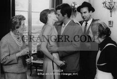 This is a Granger licensable image titled 'L'HOMME DE RIO. That Man from Rio by PhilippedeBroca with Jean-Paul Belmondo kissing Francoise Dorleac 1964. Full credit: CSFF - Rue des Archives / Granger, NYC -- All rights res' by GRANGER All rights reserved. You may not copy, publish, or use this image except for sample layout ('comp') use only. You must purchase the image from Granger in order to use it for ANY other purpose.