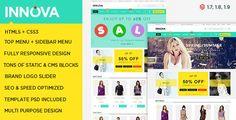 Download Free              Innova - Responsive Multipurpose Magento Theme            #               flat #modern #store