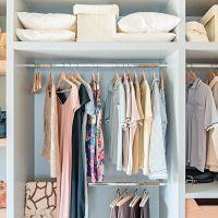 Closet diy storage hanging clothes new Ideas Home Organization Hacks, Storage Hacks, Closet Organization, Diy Storage, Storage Ideas, Ikea Closet Hack, Closet Hacks, Closet Shelves, Closet Storage