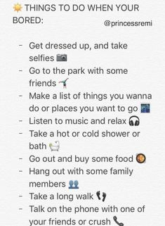 things to do when you're bored Things To Do At A Sleepover, Fun Sleepover Ideas, Things To Do When Bored, When Im Bored, Girl Life Hacks, Girls Life, Bucket List For Teens, Bored Jar, Glow Up Tips