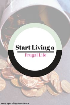 Living a #frugallife