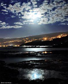 épinglé par ❃❀CM❁✿⊱Lever de Lune sur le Cap La Houssaye. Reunion island Venez profiter de la Réunion !!