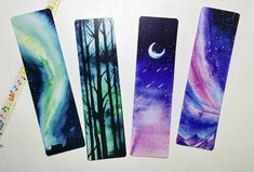 Bookmarks are up on my etsy store Link is in the Profile by tillith_