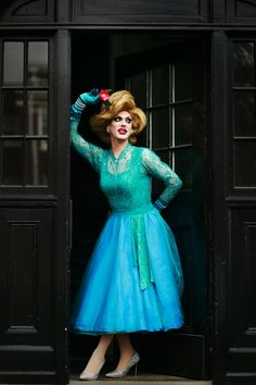 Robbie Turner is the drag-queen persona of Seattleite Jeremy Baird, 34. (Erika Schultz/The Seattle Times)