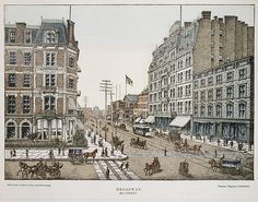Publisher: Charles Magnus & Company (New York, NY). Broadway at 42nd Street, New York, 1850-1900. The Metropolitan Museum of Art, New York. The Edward W. C. Arnold Collection of New York Prints, Maps and Pictures, Bequest of Edward W. C. Arnold, 1954 (54.90.1287)