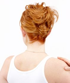 How to Do an Easy French Twist (The website has step-by-step instructions!)