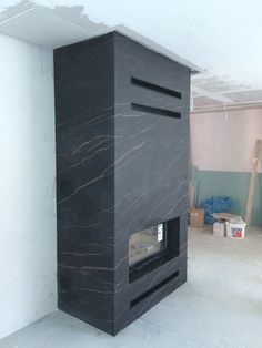 Marble Fireplaces, Modern Fireplace, Fireplace Wall, Living Room With Fireplace, Fireplace Surrounds, Fireplace Design, Tv Cabinet Wall Design, Electric Fireplace Heater, Stone Mantel