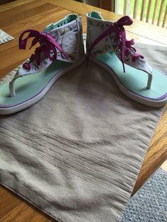 Customized converse sandals part II