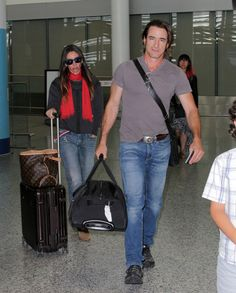 Dermot Mulroney Photos: Dermot Mulroney Lands in Toronto