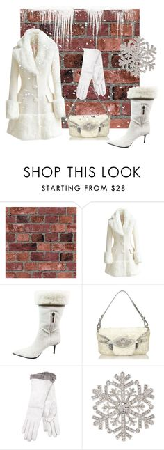"""""""Color of the Day 12/16: White"""" by abbyandelle ❤ liked on Polyvore featuring WithChic, Cesare Paciotti, Valentino, Imoni, Anne Klein, AbbyAndElle and upstairsfashion"""