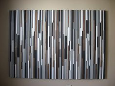 Reclaimed Wood Headboard Furniture Bedroom Wood door ModernRusticArt