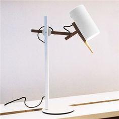 Schöne Tischlampe Zylinder Design Ideal fürs Haus
