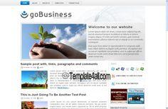 Wordpress Themes - Business clean Wordpress Template #wordpress #clean #wordpressthemes