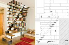 stair bookcases - Google Search