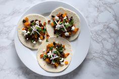 Vegetarian Butternut Squash Tacos!