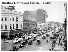 Historic Yakima - this scene is closer to my memories of growing up in the valley-- but still before my time!  Loved it there, love going back.